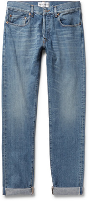 Privee Salle Lewitt Slim-Fit Tapered Selvedge Denim Jeans
