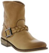 Blackstone Braid Strap Short Leather Boot