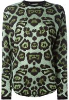 Givenchy leopard print T-shirt - women - Polyamide/Viscose - 38