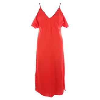 Alexander Wang Red Viscose Dresses