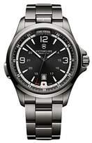 Victorinox Men's 241665 'Night Vision' Grey Dial Stainless Steel Swiss Quartz Watch