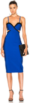 Thierry Mugler Mega Milan Bicolor Dress