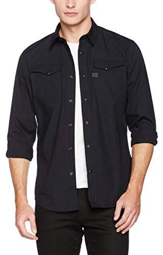 G Star Men's Tacoma Deconstructed Casual Shirt,S