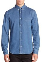 Acne Studios Long Sleeve Denim Shirt