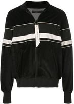 Daniel Patrick velvet track jacket
