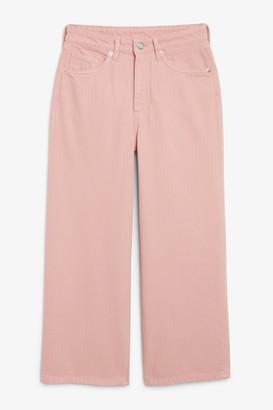 Monki Mozik pink jeans
