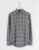 Boden Herringbone Flannel Shirt