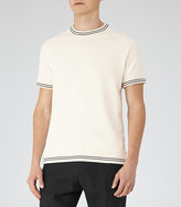 Reiss Homage Piped Cotton T-Shirt