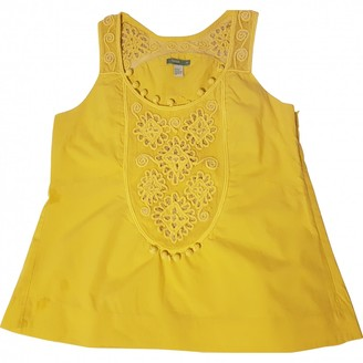 Hoss Intropia \N Yellow Cotton Top for Women