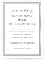 Minted Time and All Eternity Wedding Invitations