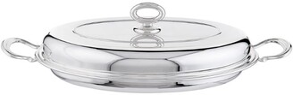 Greggio Silver Plated Georgian Oval Serving Dish (25 X 33Cm)