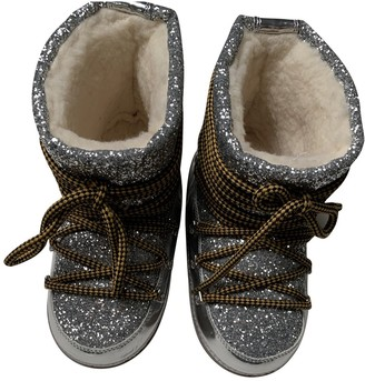 DSQUARED2 \N Silver Glitter Ankle boots