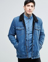 Dr. Denim Ior Borg Jacket