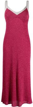 M Missoni Knitted Glitter Midi-Dress