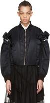 Noir Kei Ninomiya Black Pearl Bomber Jacket