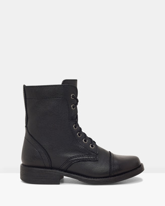 ROC Boots Australia - Women's Black Lace-up Boots - Flyte - Size One Size, 37 at The Iconic