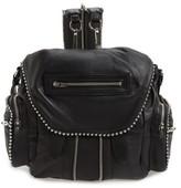 Alexander Wang Mini Marti Ball Stud Leather Backpack - Black