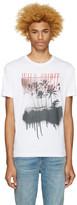 Diesel White T-Joe-Me Wild Spirit T-Shirt