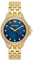 Juicy Couture Women's 'Malibu' Quartz Tone and Gold Plated Casual Watch(Model: 1901492)