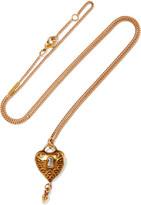 Chloé Gold-tone Necklace - one size