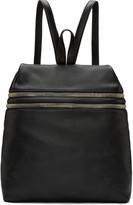 Kara Black Double Zip backpack