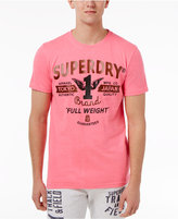 Superdry Men's Full Weight Graphic-Print Logo Cotton T-Shirt