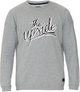 The Upside Logo-printed jersey sweatshirt