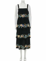 Thumbnail for your product : Vilshenko Silk Long Dress w/ Tags Black