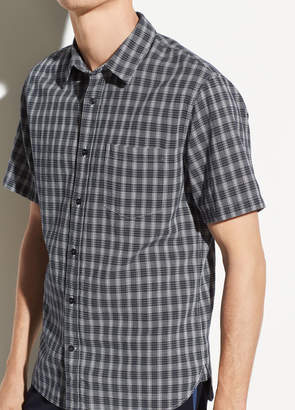 Mini Plaid Short Sleeve