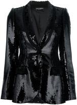 Dolce & Gabbana sequinned blazer - women - Polyester/Silk/Spandex/Elastane - 42