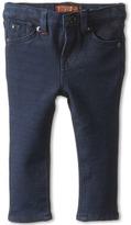 7 For All Mankind Kids - Skinny Jean in Indigo Ponte Knit Girl's Jeans