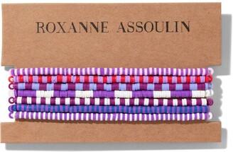 Roxanne Assoulin Color Therapy Purple bracelet set