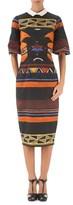 Stella Jean Women's Multicolor Cotton Dress.