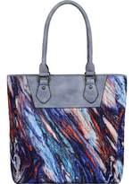 Mellow World Pisa Pleated Tote Handbag (Women's)