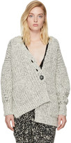 Isabel Marant Ecru and Black Favian Cardigan