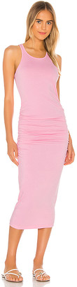 Michael Stars Racer Back Midi Dress