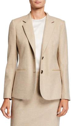 Kiton Wool-Cashmere Blazer