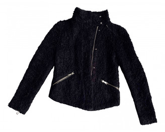 Whistles Black Faux fur Jackets