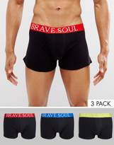 Brave Soul 3 Pack Boxers