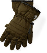 Polo Ralph Lauren Quilted Down Tech Gloves