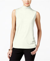 Charter Club Petite Mock-Neck Shell, Only at Macy's