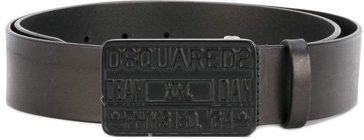 DSQUARED2 Denim buckle belt