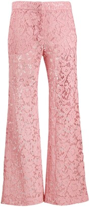 Valentino Floral Lace Trousers