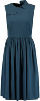 Marc by Marc Jacobs Pleated crepe midi dress