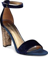 Marc Fisher Factor Block-Heel Dress Sandals