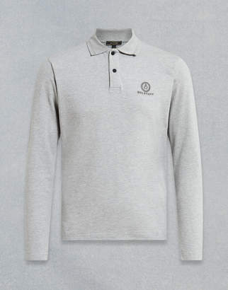 Belstaff LONG SLEEVED POLO SHIRT Grey