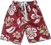 Trunks Unbranded Preschool Wes & Willy Garnet Florida State Seminoles Floral Swim