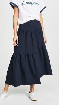 Wilt Long Tiered Skirt