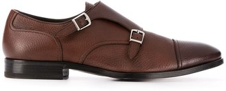 Henderson Baracco Double Buckle Monk Shoes