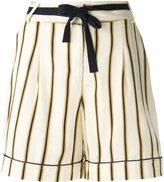 Roberto Collina striped tailored shorts